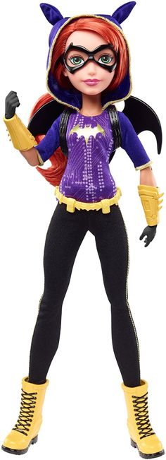 Buy DC Super Hero Girls - Batgirl Action Doll at Mighty Ape NZ. Unleash your power and explore your inner hero with DC Super Hero action dolls! Inspired by the star students of DC Super Hero High, the DC Super Her. Barbie 80s, Barbie Dolls, Doll Toys, Ever After High, Super Hero High, Dc Super Hero Girls, Hulk, Dc Superhero Girls Dolls, Comic Art