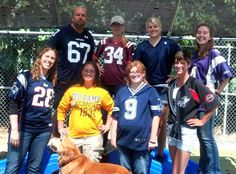 Our enthusiastic South Side pack on Jersey Day!