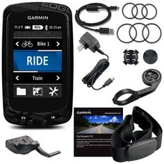 The entire Garmin 810 performance bundle for the truly dedicated cyclist athlete - Garmin Edge Touring vs 810