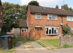 Thumbnail 3 bedroom semi-detached house for sale in Talbot Road, Hatfield, Hertfordshire