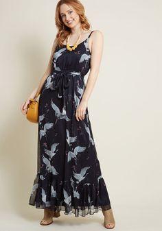 Peaceful Panache Maxi Dress in XL - Spaghetti Modcloth a29c53a294a51