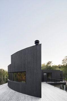 House / Quebec, Canada. Architecture: Alain Carle Architecte