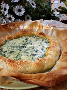 Torta rustica salata con ricotta e spinaci - Ricette Blogger Riunite