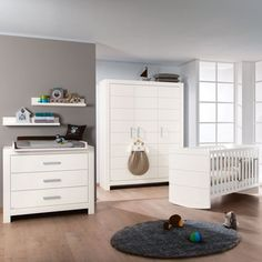 Unique Paidi Fiona Kinderzimmer Schrank t rig u Wiegefunktion matt EUR