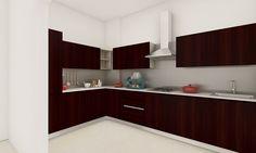 Inspiring L Shaped Kitchen