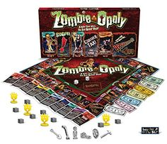 The Zombie Shop - Zombies Taking Over has a couple of board games available to purchase including zombie-opoly - a game the whole zombie family can play!  #apinparty