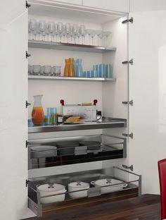Italian Modern Design Kitchens - Carrè by Ernestomeda