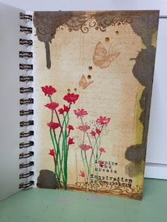 A great art journal page from Jessica Hess!  (K)