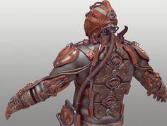 """Tor """"Snefer"""" Frick's Art: Gloves & Armor"""