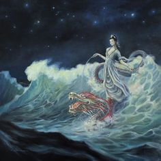 Guan Yin Rides the Dragon