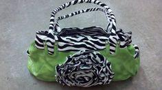 Zebra in Lime Green $59.99