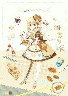 images for anime girls Art Kawaii, Manga Kawaii, Kawaii Anime Girl, Anime Art Girl, Manga Girl, Anime Girls, Anime Chibi, Manga Anime, Cute Characters