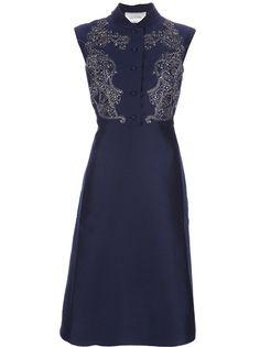 Valentino - embellished shirt dress