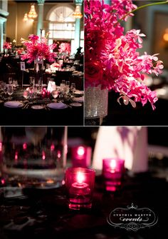 Love the whole black and hot pink mood!! <3