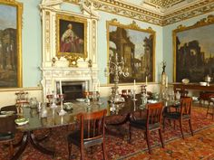 Staffordshire - Shugborough Hall - Dinning Room