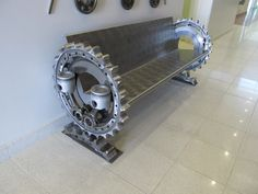 Sprocket Bench by Shon Parks & Tim Moriarty