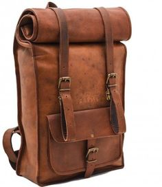 Vintage Crafts Leather Backpack College Backpack Leather Rucksack School Backpack Travel Leather Backpack Leather Laptop Backpack -- More info could be found at the image url. Note: It's an affiliate link to Amazon #menleatherbackpack