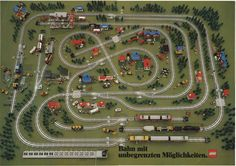 model train layouts | ... train collection but i would love to find a 7740 inter city train