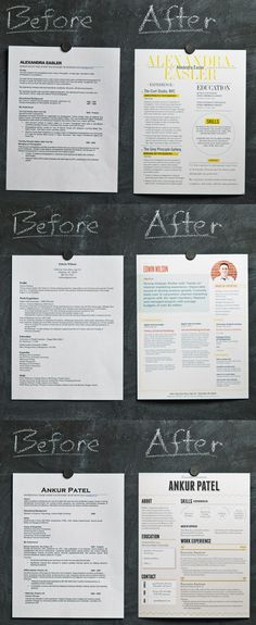 A good design makes a HUGE difference. Here are some tips to make your resume stand out.