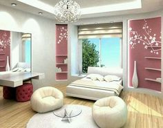 55 room design ideas for teenage girls | girls, teenagers and love the