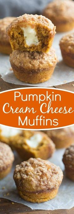 The BEST Pumpkin Cream Cheese Muffins! Better than the bakery and one of my favorite pumpkin muffins of all time! | Tastes Better From Scratch
