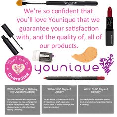 Guarantee www.youniqueproducts.com/AmberDorsey