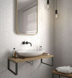 Inspiration bathroom tile pattern decorating ideas (54)