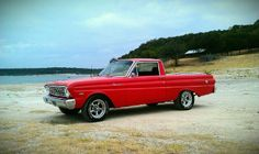 This is my baby. My 64 Ford Ranchero
