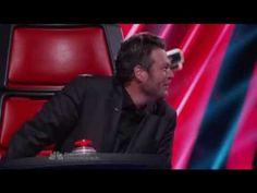 The Voice. Adam Levine impersonating Blake Shelton