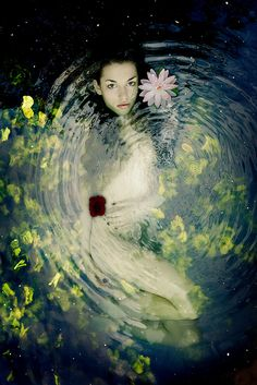 Ophelia by colourspace / #water #art #photography