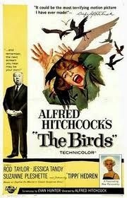 A great poster from The Birds - the unforgettable classic movie from Master of Suspense Alfred Hitchcock! Check out the rest of our excellent selection of Alfred Hitchcock posters! Need Poster Mounts. Classic Movie Posters, Horror Movie Posters, Classic Movies, Horror Movies, Film Posters, Old Movie Posters, Scary Movies, Old Movies, Vintage Movies