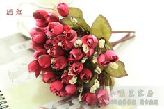 Aliexpress.com : Buy 2013 Hot sale! 5 heads 6 colors Artificial flower rose small silk 22cm long for home wedding party decoration free shipping from Reliable silk orchid suppliers on Lore 's Decoration Flowers Store. $29.99