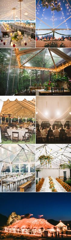 40 Beautiful Ways to Decorate Your Wedding Tent - Praise Wedding