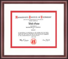 Massachusetts Institute Of Technology Diploma Frame - Talking Walls Cambridge College, University Diploma, High School Diploma, Diploma Frame, Massachusetts Institute Of Technology, Alma Mater, School Colors, Engineers, Appreciation