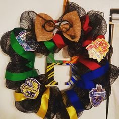 Harry potter wreath