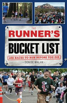 It's almost here!! The Runner's Bucket List: 200 Races to Run Before You Die by Denise Malan #running #runnersbucketlist