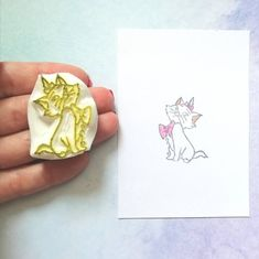 Scrapbooking, Boutique Etsy, Tampons, Day Planners, Marie Aristocats, The Aristocats, Ink Stamps, Gift Ideas, Scrapbooks