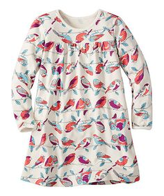 Look what I found on #zulily! Soft White Birds It's a Playdress, It's a Daydress by Hanna Andersson #zulilyfinds