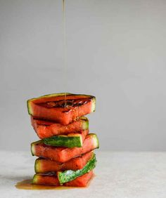 Honey Grilled Watermelon   27 Delicious Paleo Recipes To Make This Summer