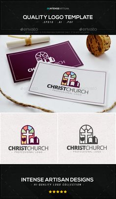 Christ Church Logo Template - Symbols Logo Templates