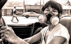 Αποτέλεσμα εικόνας για los angeles smog 1970s