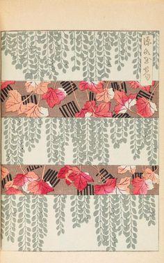 two motifs into one // Shin-bijutsukai (shin-bijutsukai was an early 20th c. Japanese design magazine)