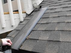 It is very common for dormers and other roof structures that have gutters above the level of the gutters on lower portions of the roof, to empty on. Gutter Downspout Extension, Gutter Drainage, Gutter Extensions, Roof Drain, Leaf Filter, Water Flood, Copper Gutters, Shed Dormer, How To Install Gutters