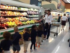 Today Ms. Teri's class took a field trip to the super market. We learned how it…