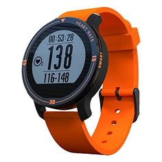 Makibes Aerobic A1 IP67 Sports Smart Watch Heart Rate Monitor Fitness Tracker Sleep Monitor Pedometer Call SMS Reminder