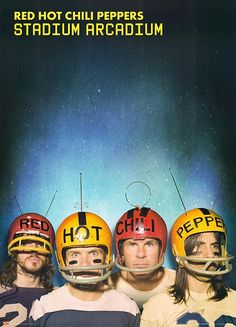 My favorite band of all time and one of my favorite albums, Stadium Arcadium