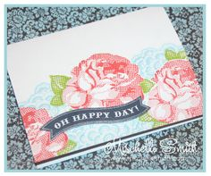 Pick-a-posey card by Mischelle Smith