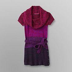 Derek Heart Junior's Cowl Neck Tunic Sweater - Clothing - Juniors - Sweaters