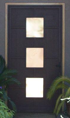 Security Door Doors And Steel On Pinterest