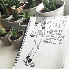 drawing grunge aesthetic plants drawings indie hipster journal easy disegni cool painting quotes inspiration dessin song lyrics fave je words